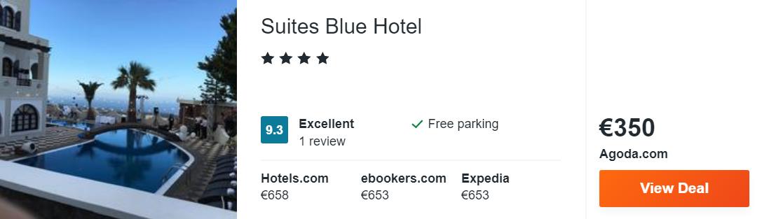 Suites Blue Hotel