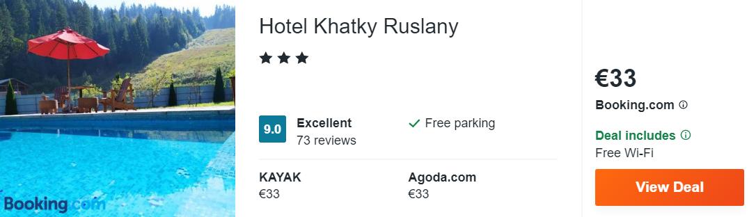 Hotel Khatky Ruslany