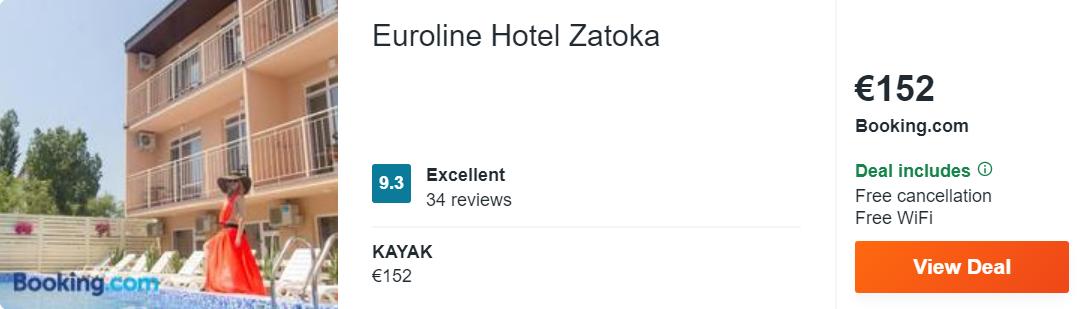 Euroline Hotel Zatoka