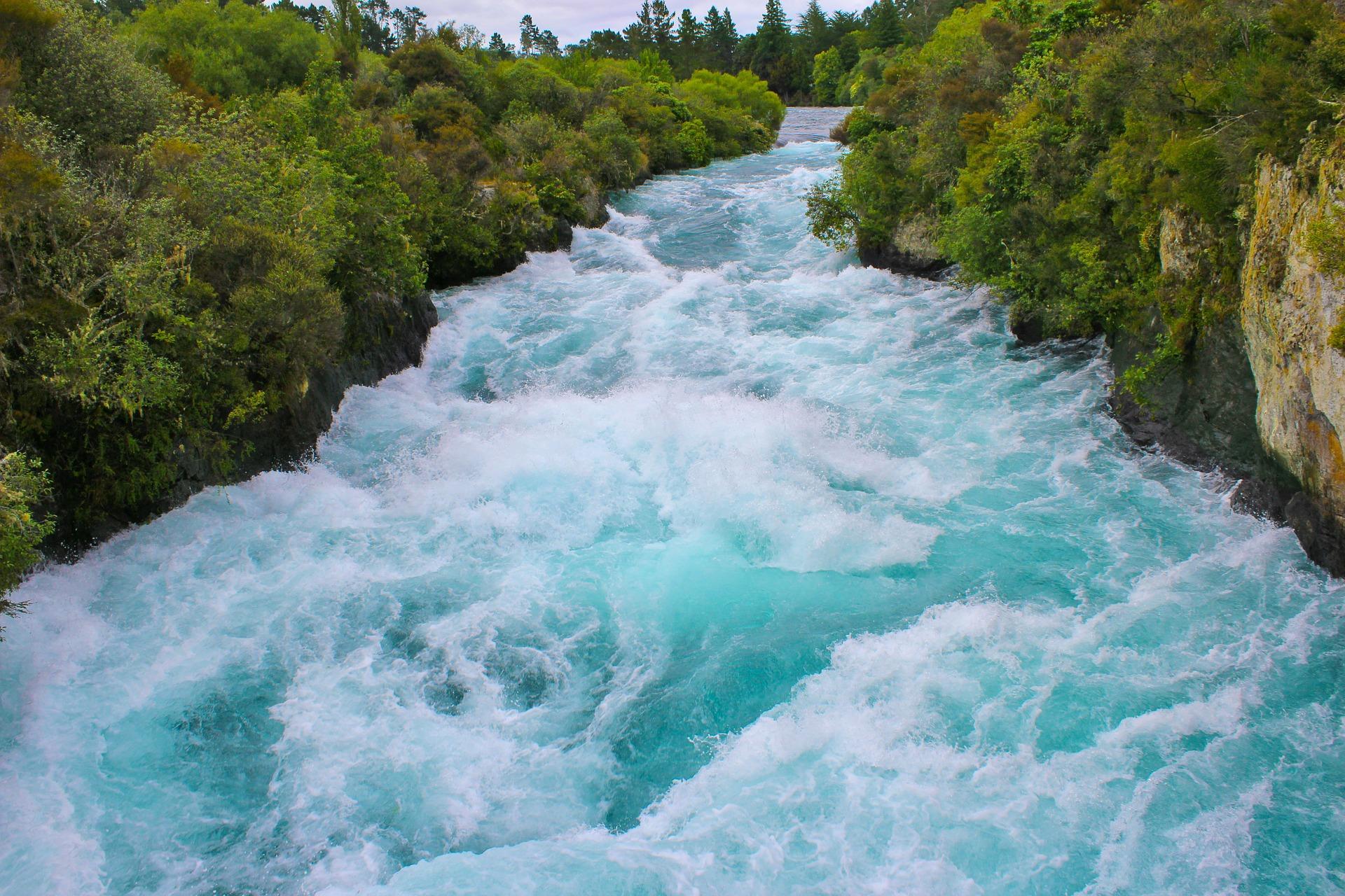Нова Зеландія Таупо Хука