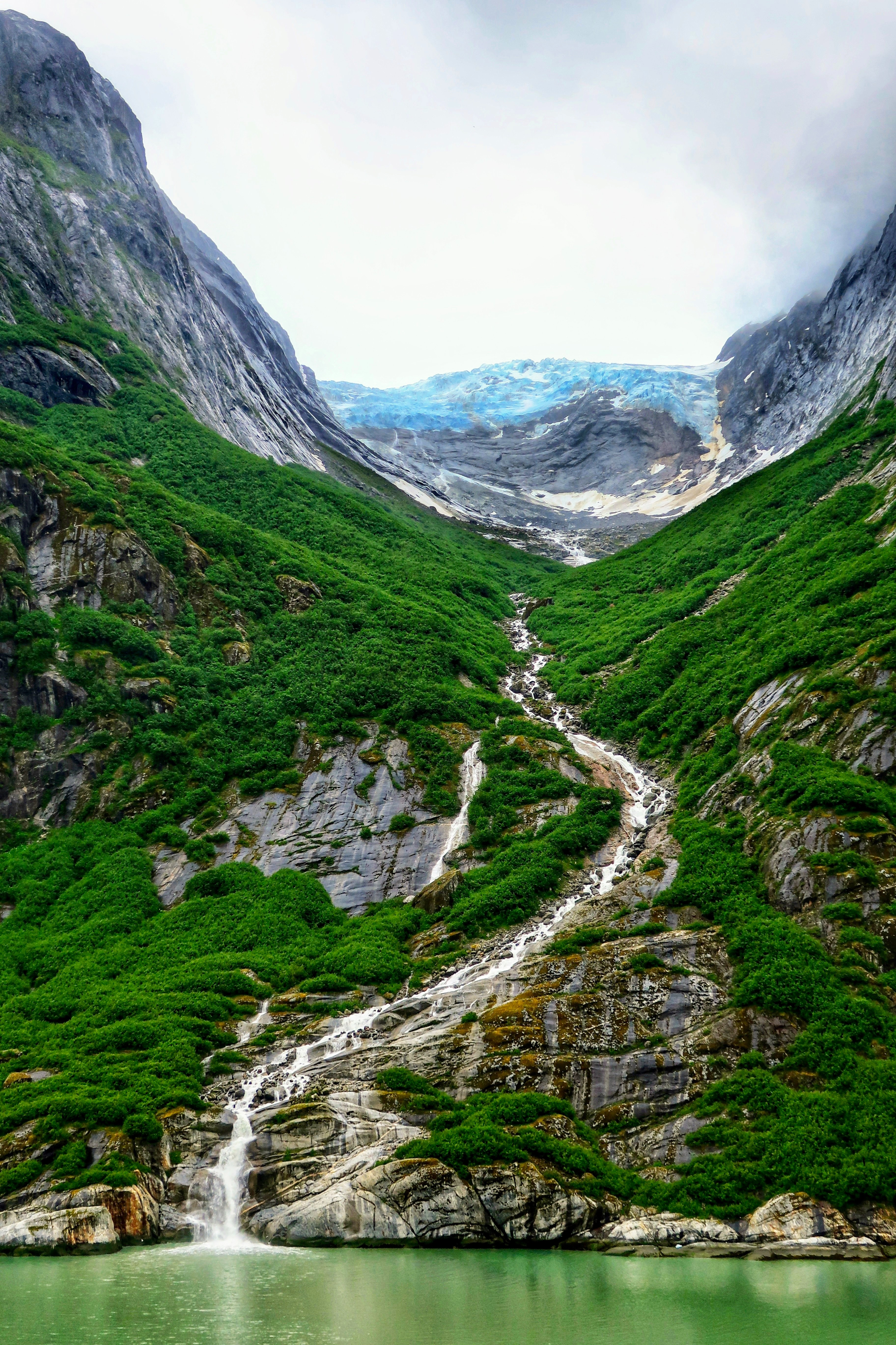 США Аляска Глейшер-Бей