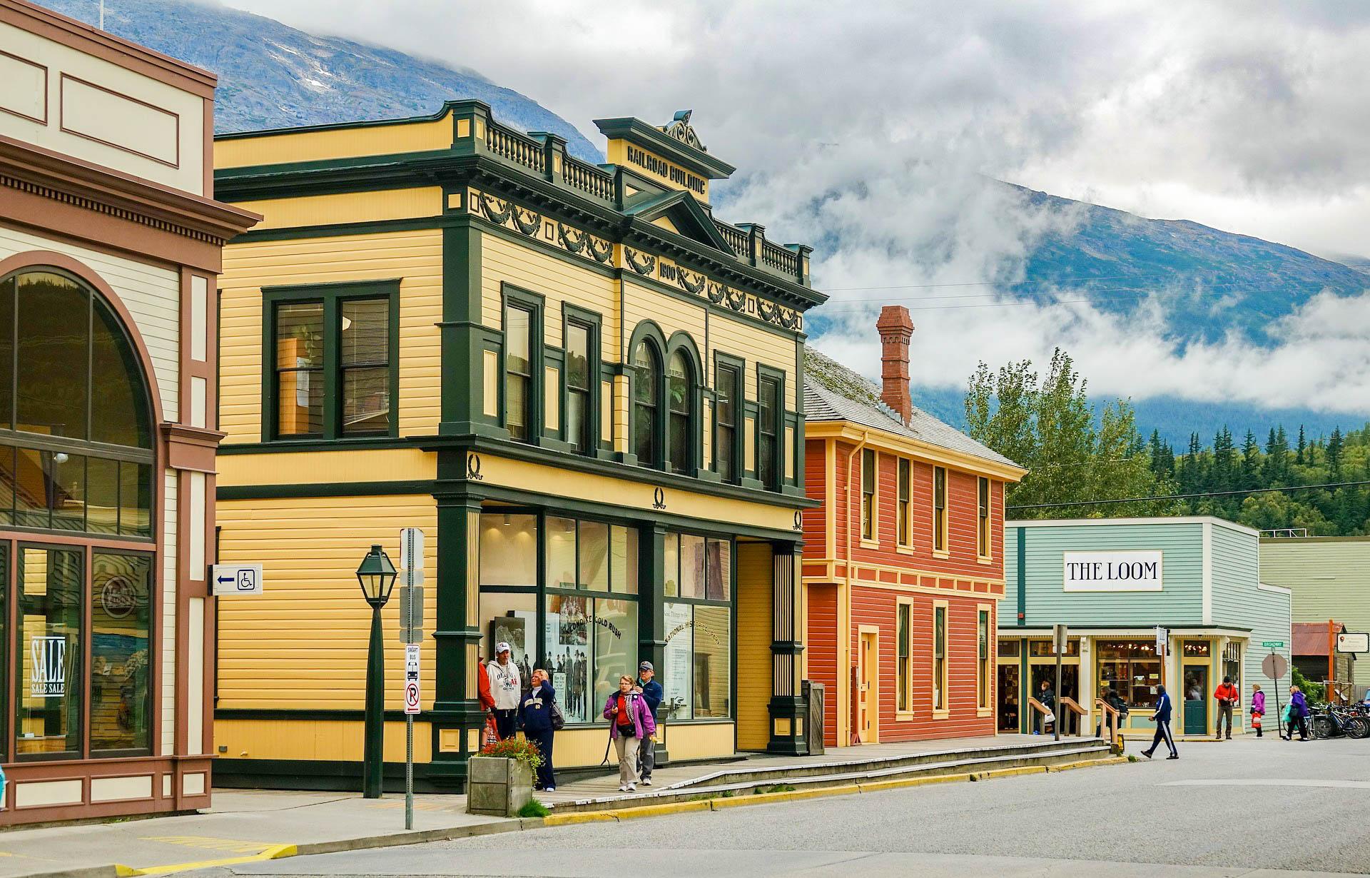 США Аляска Скагвай
