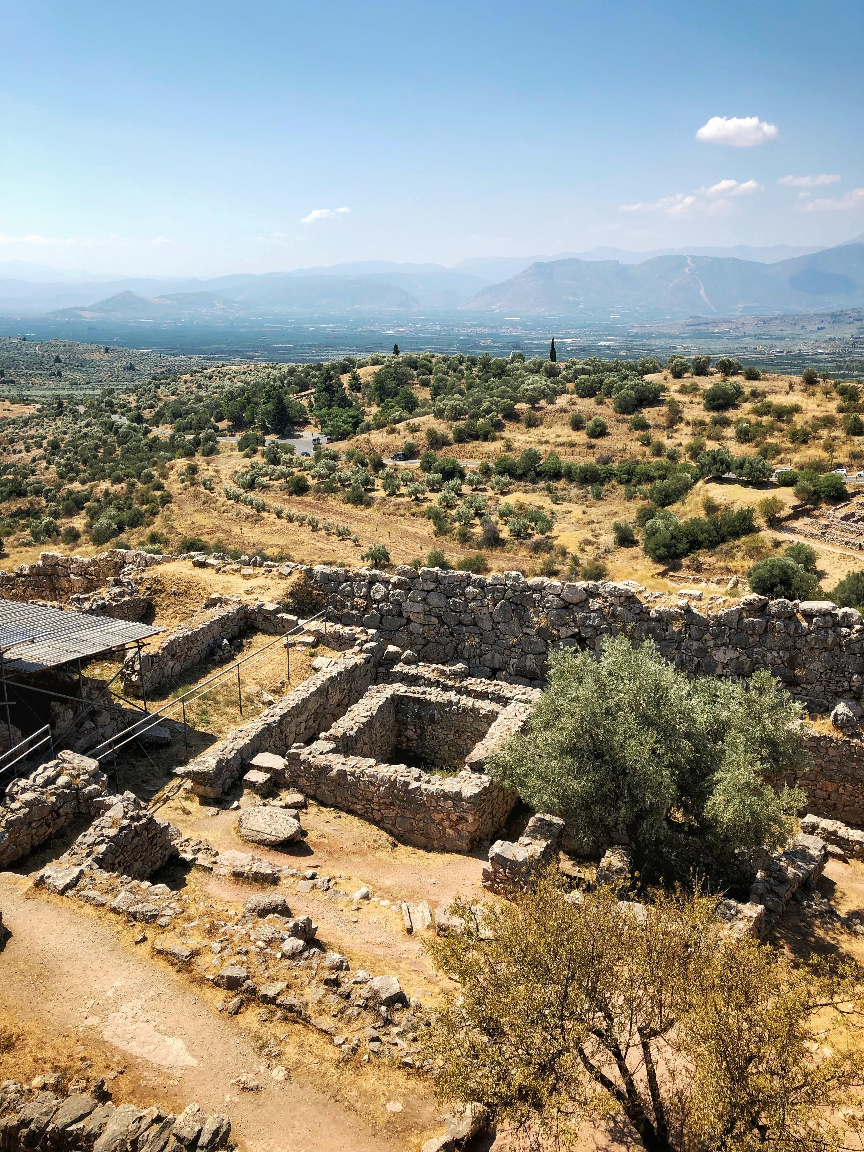 Греція Пелопоннес Мікени