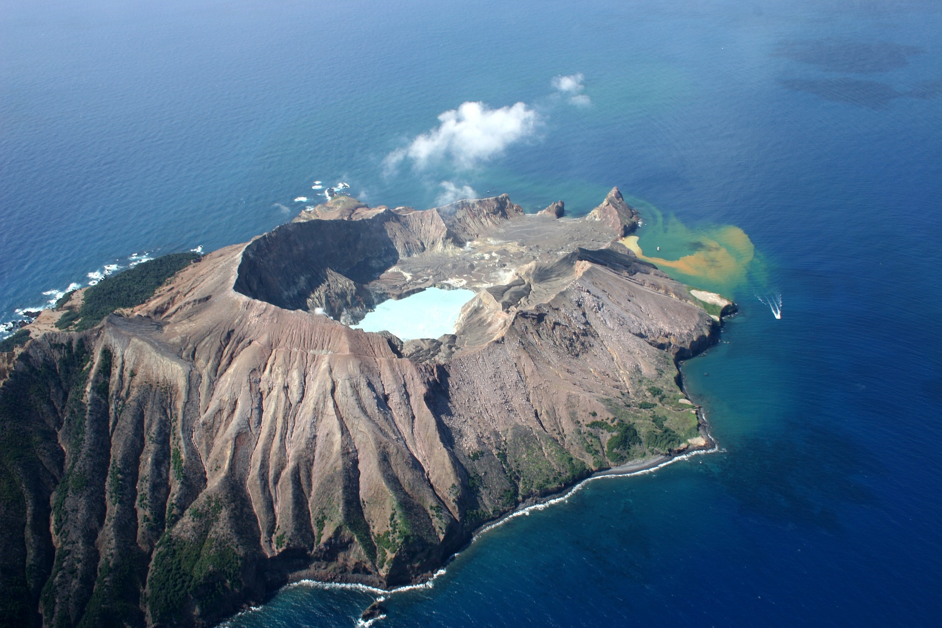 Нова Зеландія вулкан
