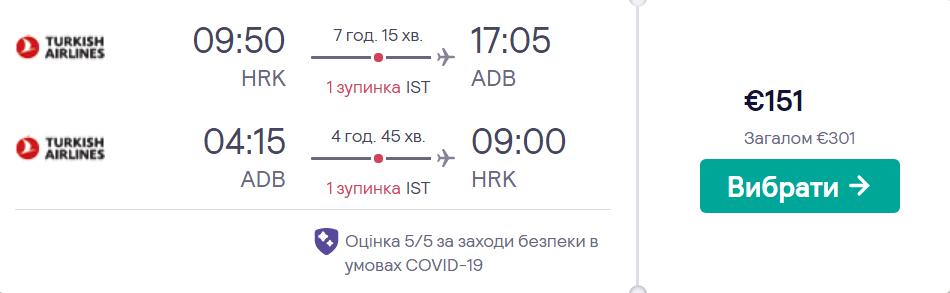 Харків - Ізмір - Харків >>