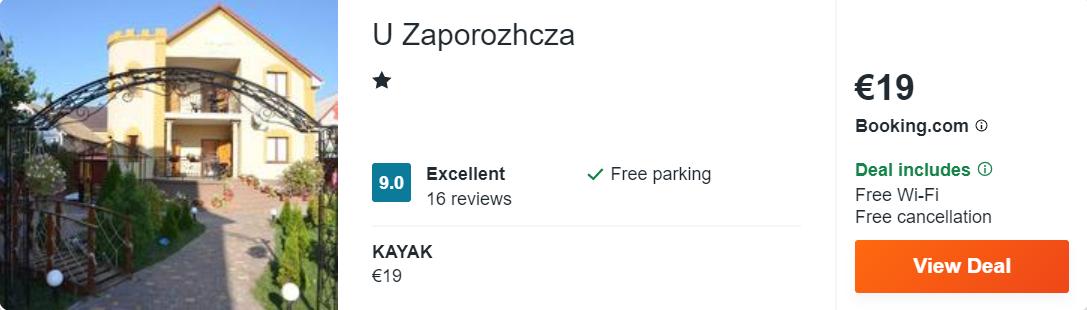 U Zaporozhcza