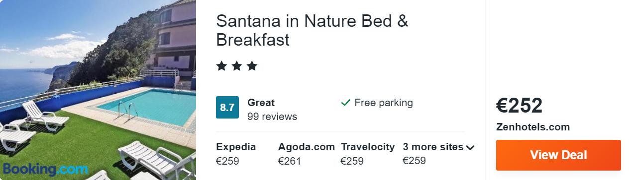 Santana in Nature Bed & Breakfast