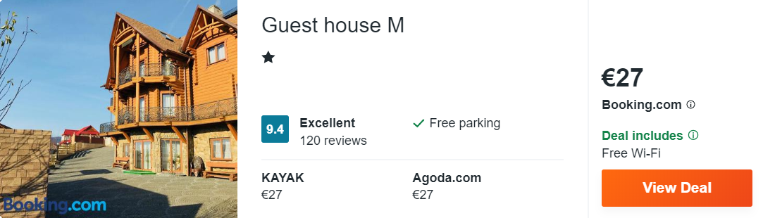 Guest house М