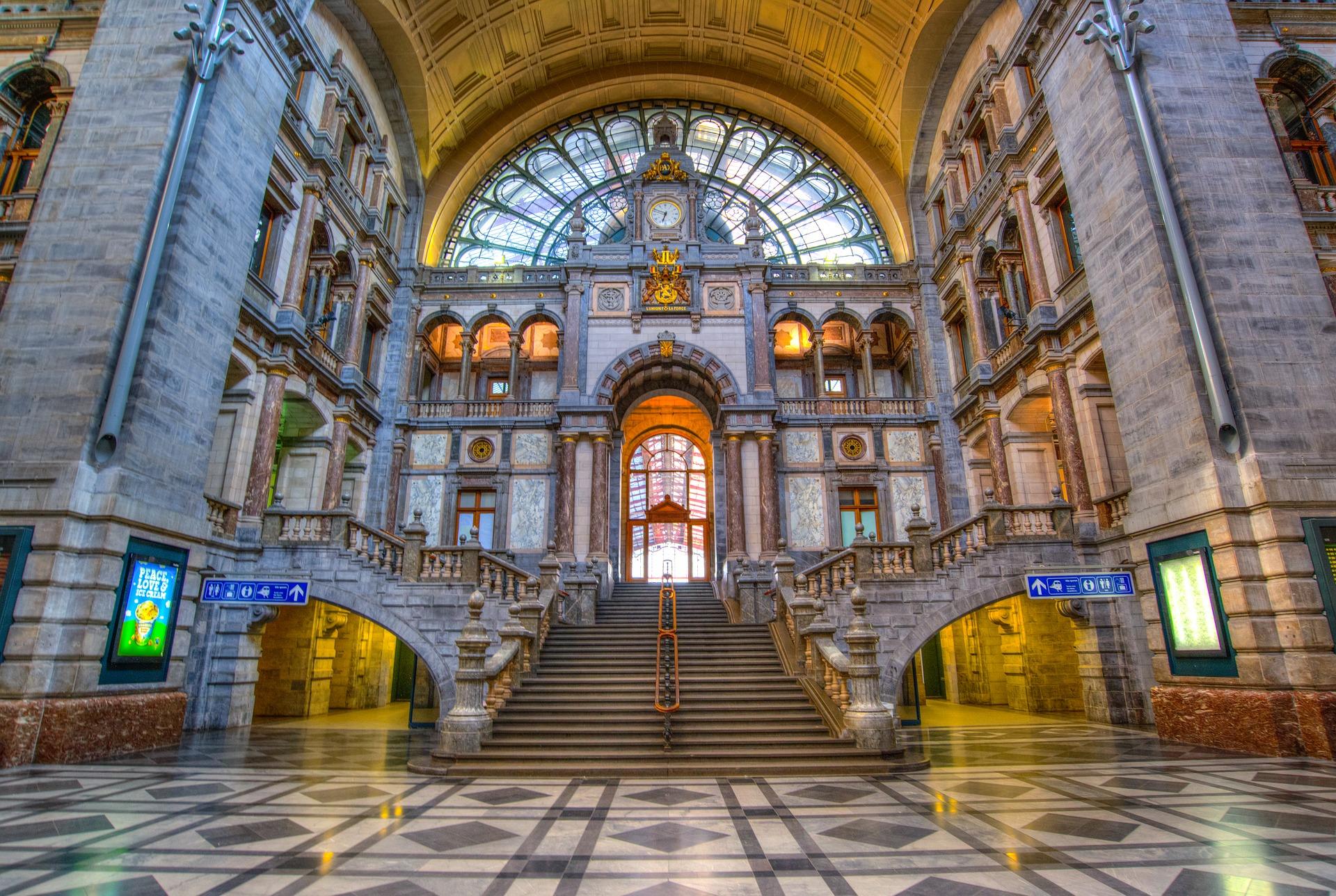 Бельгія Антверпен вокзал