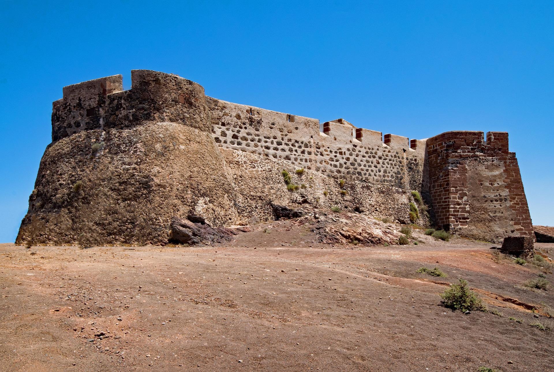 Іспанія Лансароте Кастильо-де-Санта-Барбара