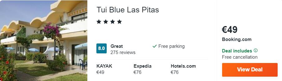 Tui Blue Las Pitas