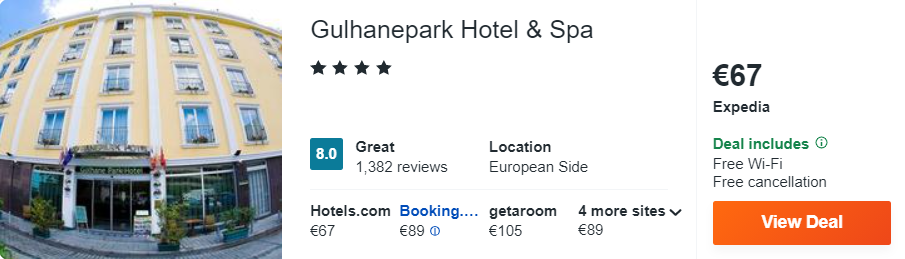 Gulhanepark Hotel & Spa