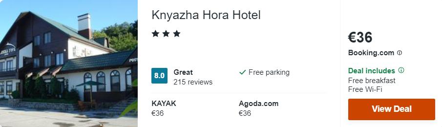 Knyazha Hora Hotel