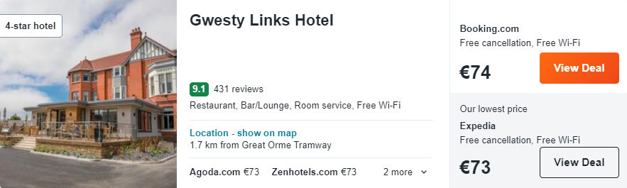 Gwesty Links Hotel