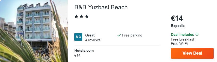 B&B Yuzbasi Beach