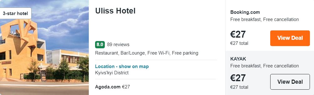 Uliss Hotel