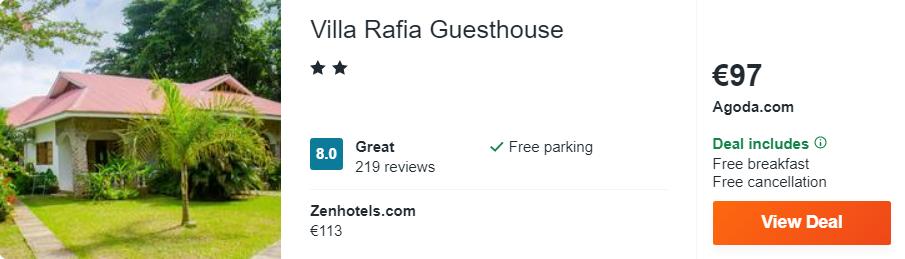 Villa Rafia Guesthouse