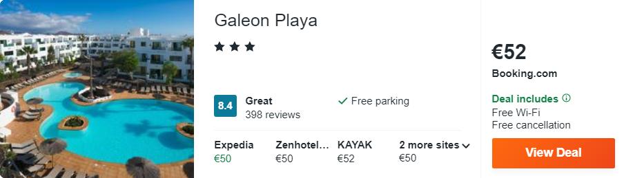 Galeon Playa