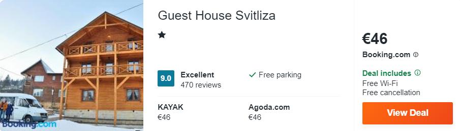 Guest House Svitliza