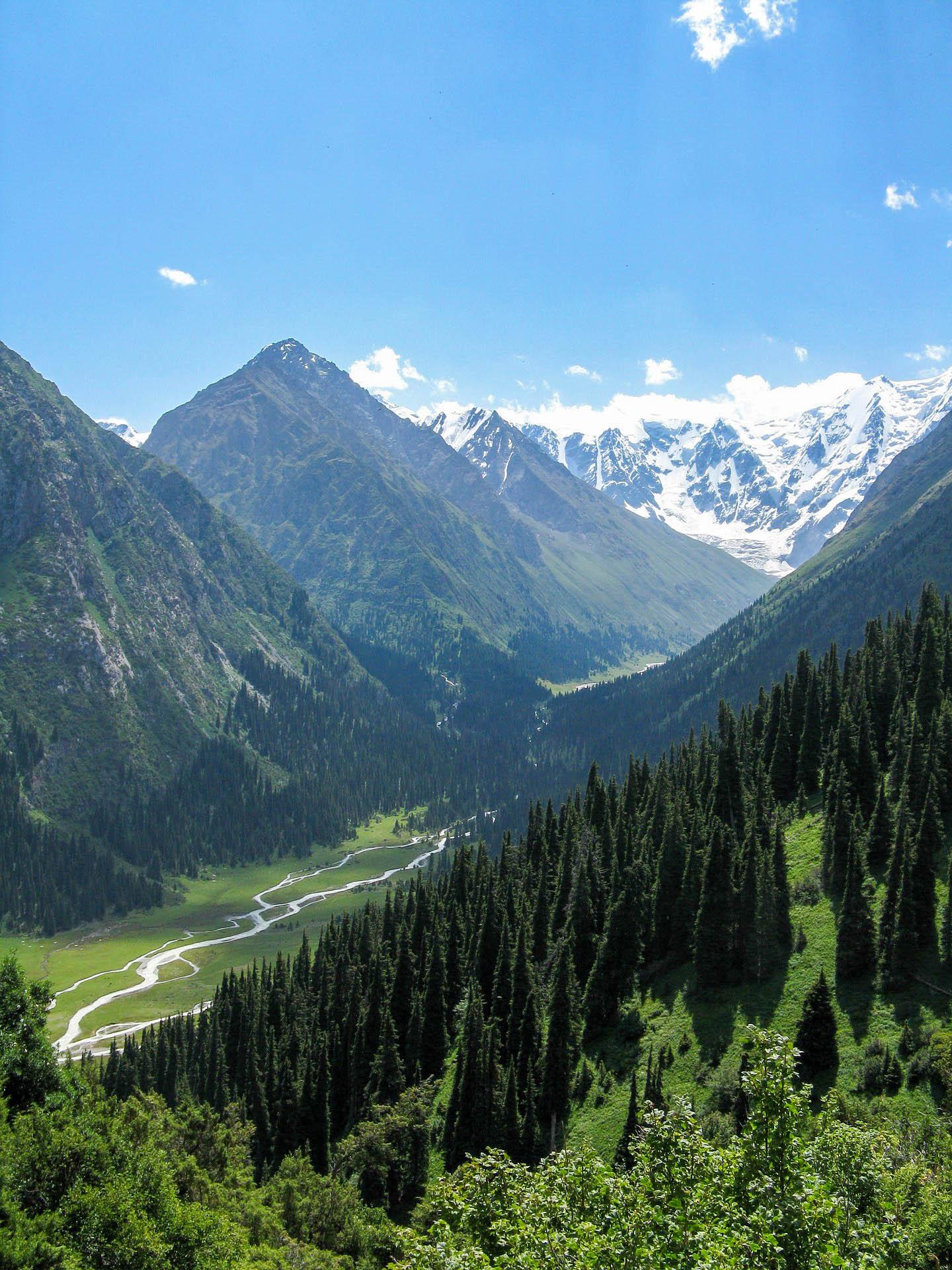 Киргизстан Тянь-Шань