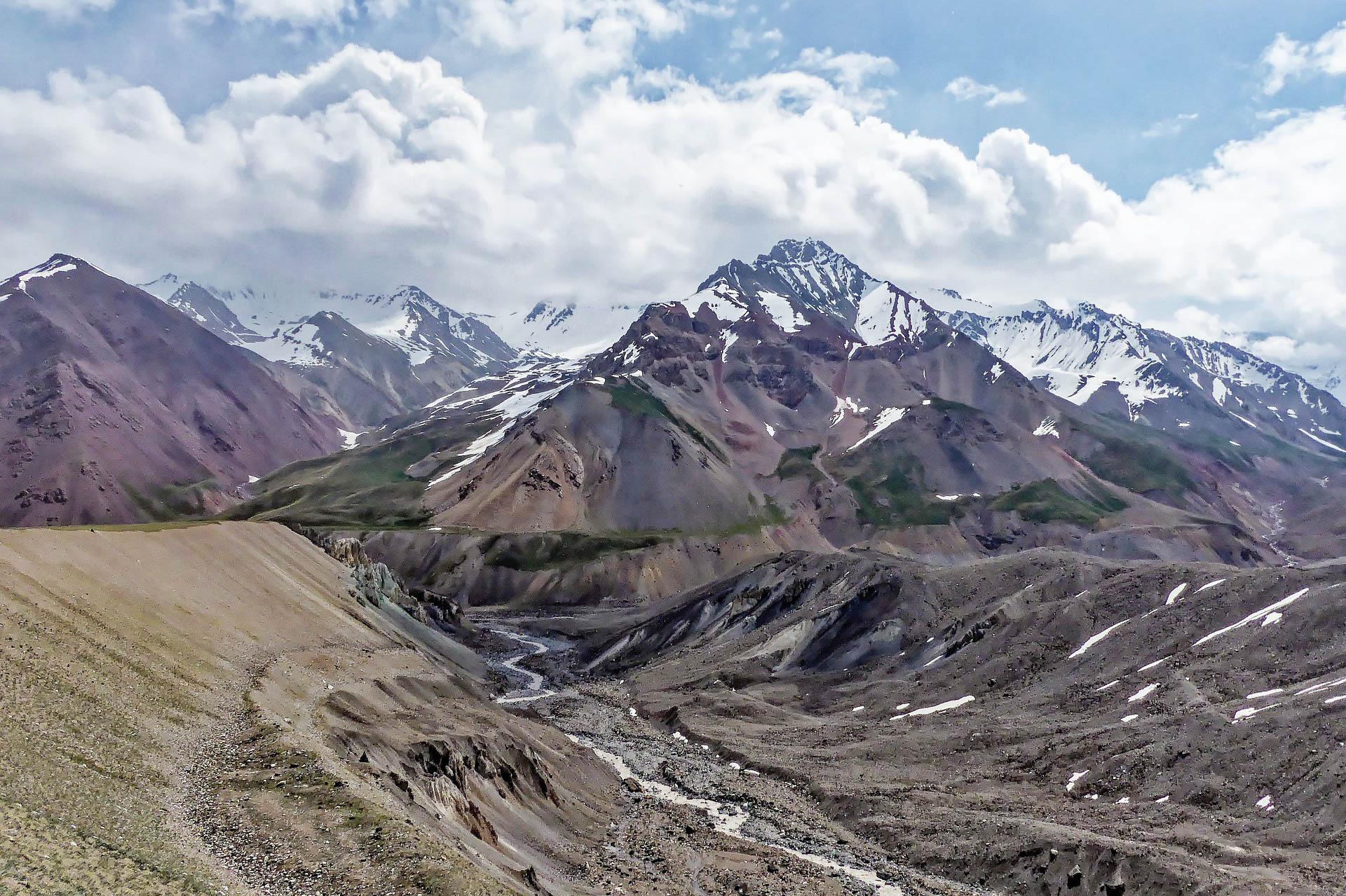 Киргизстан льодовик Інильчек