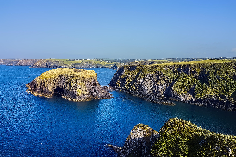 Великобританія Уельське узбережжя Пемброкшир