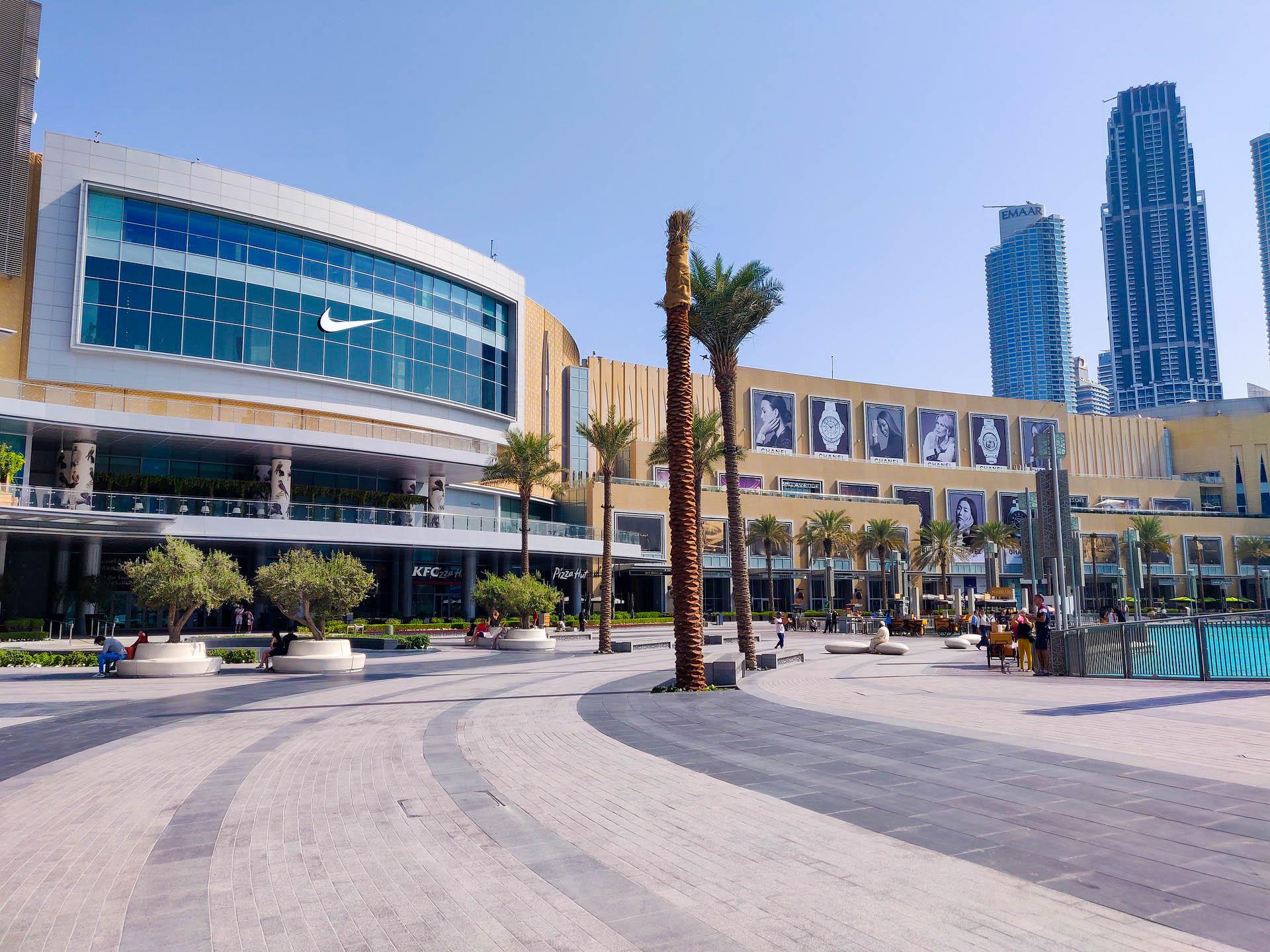 ОАЕ Дубай молл