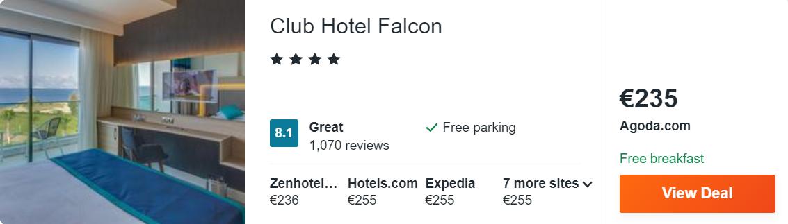 Club Hotel Falcon