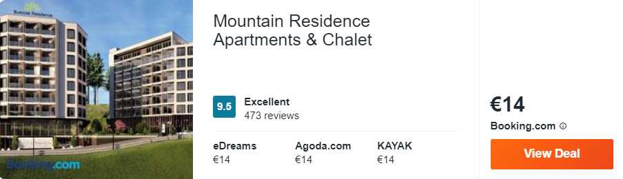 Mountain Residence Apartments & Chalet