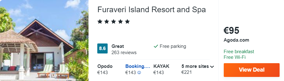 Furaveri Island Resort and Spa
