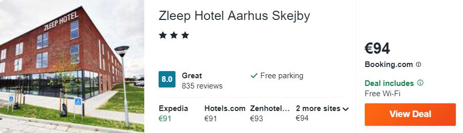 Zleep Hotel Aarhus Skejby