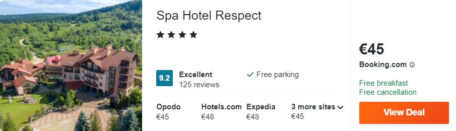 Spa Hotel Respect
