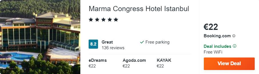 Marma Congress Hotel Istanbul