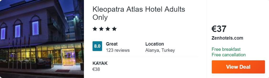 Kleopatra Atlas Hotel Adults Only