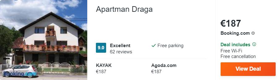 Apartman Draga