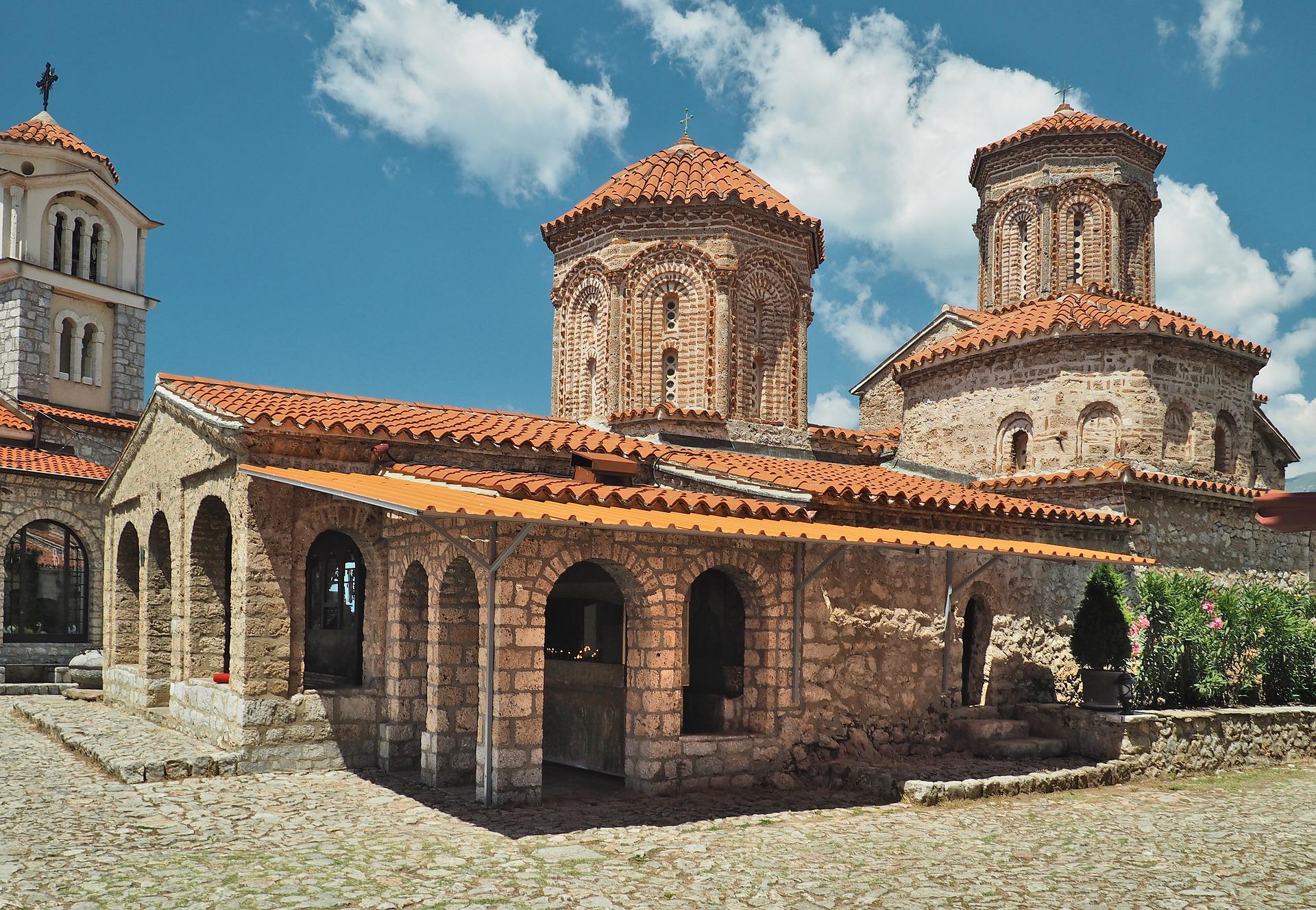 Македонія Монастир святого Наума