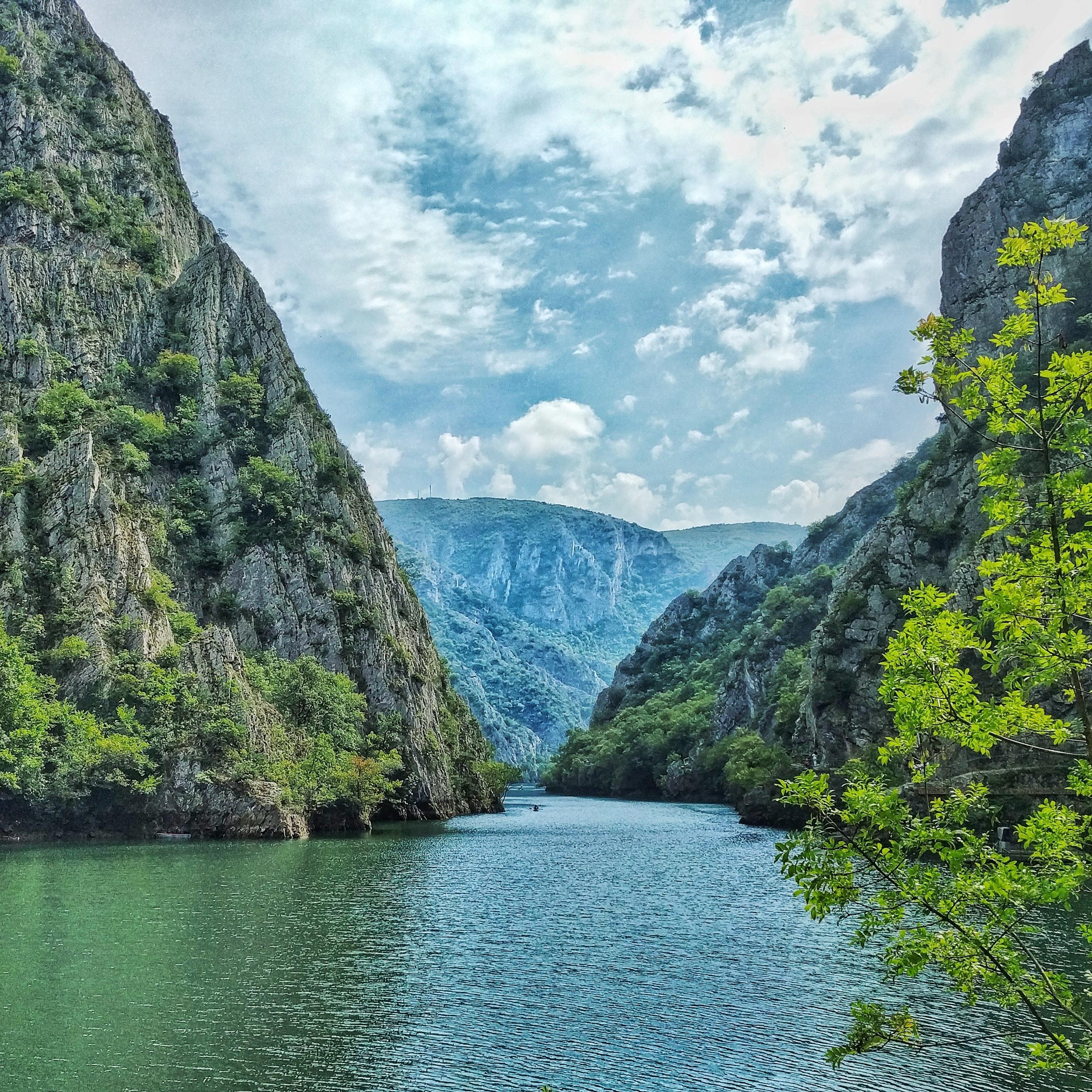 Македонія каньйон Матка