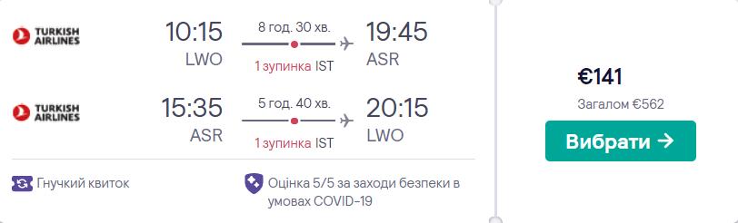 Львів - Кайсері - Львів