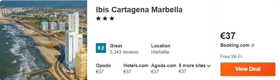 Ibis Cartagena Marbella