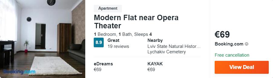 Modern Flat near Opera Theater