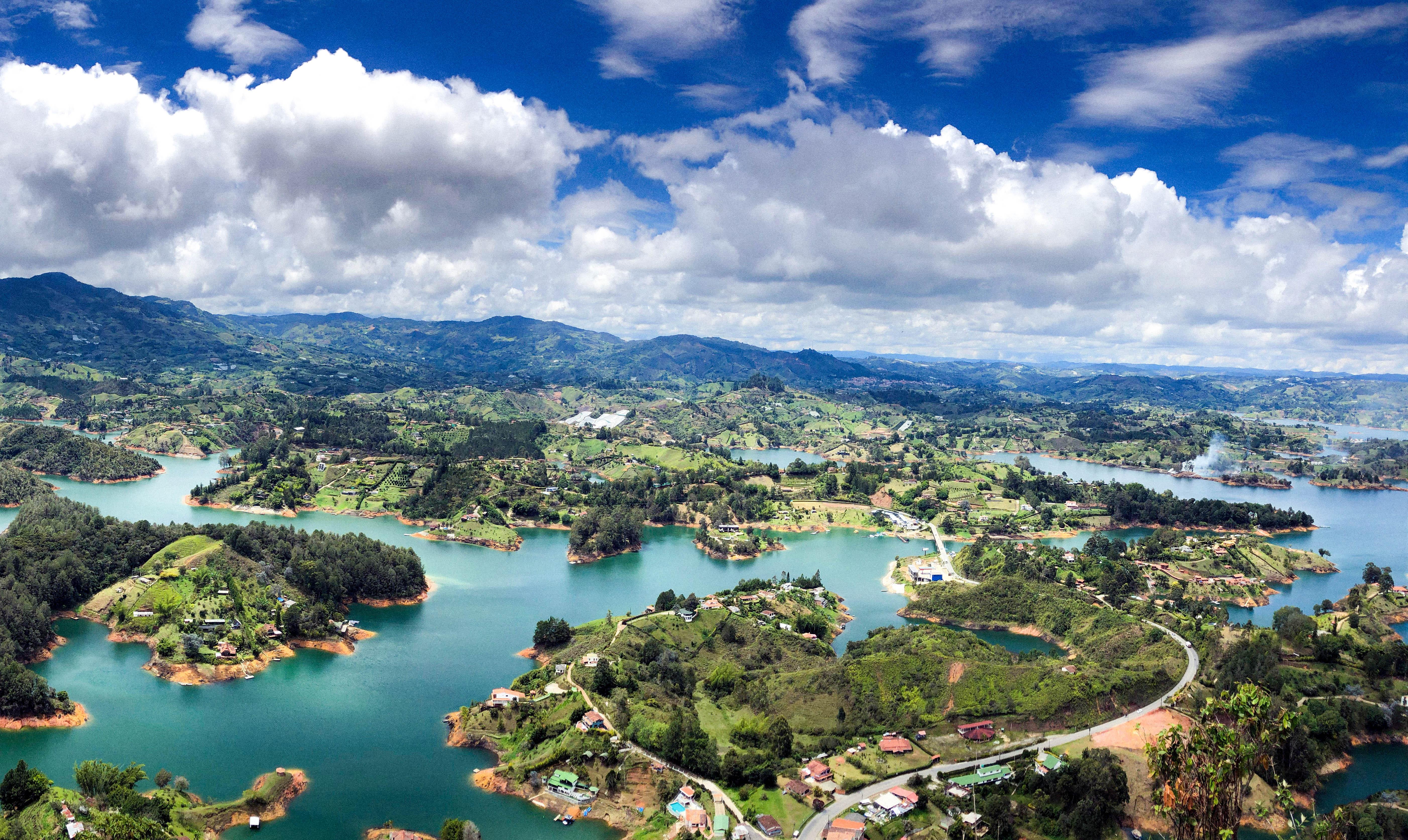 Колумбія Ель-Пеньон-де-Гуатапе