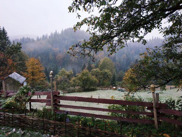 Україна Карпати зима