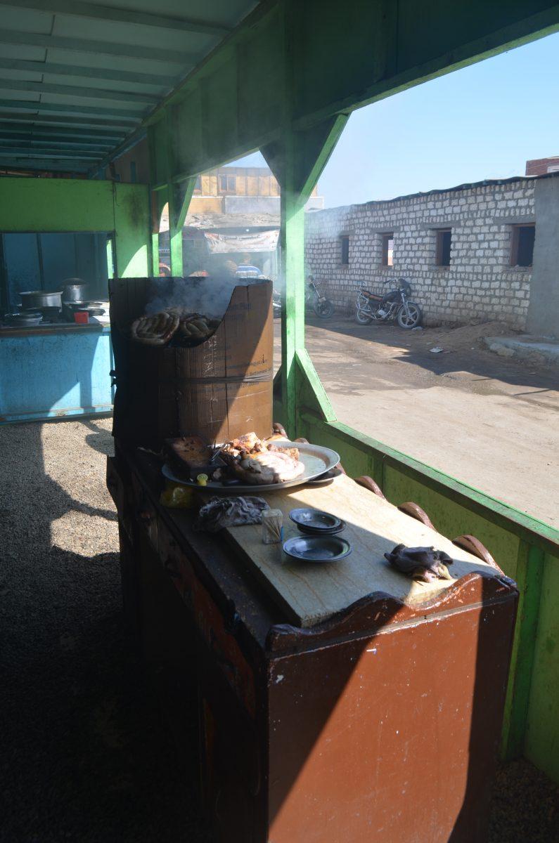Кафе в суданському стилі