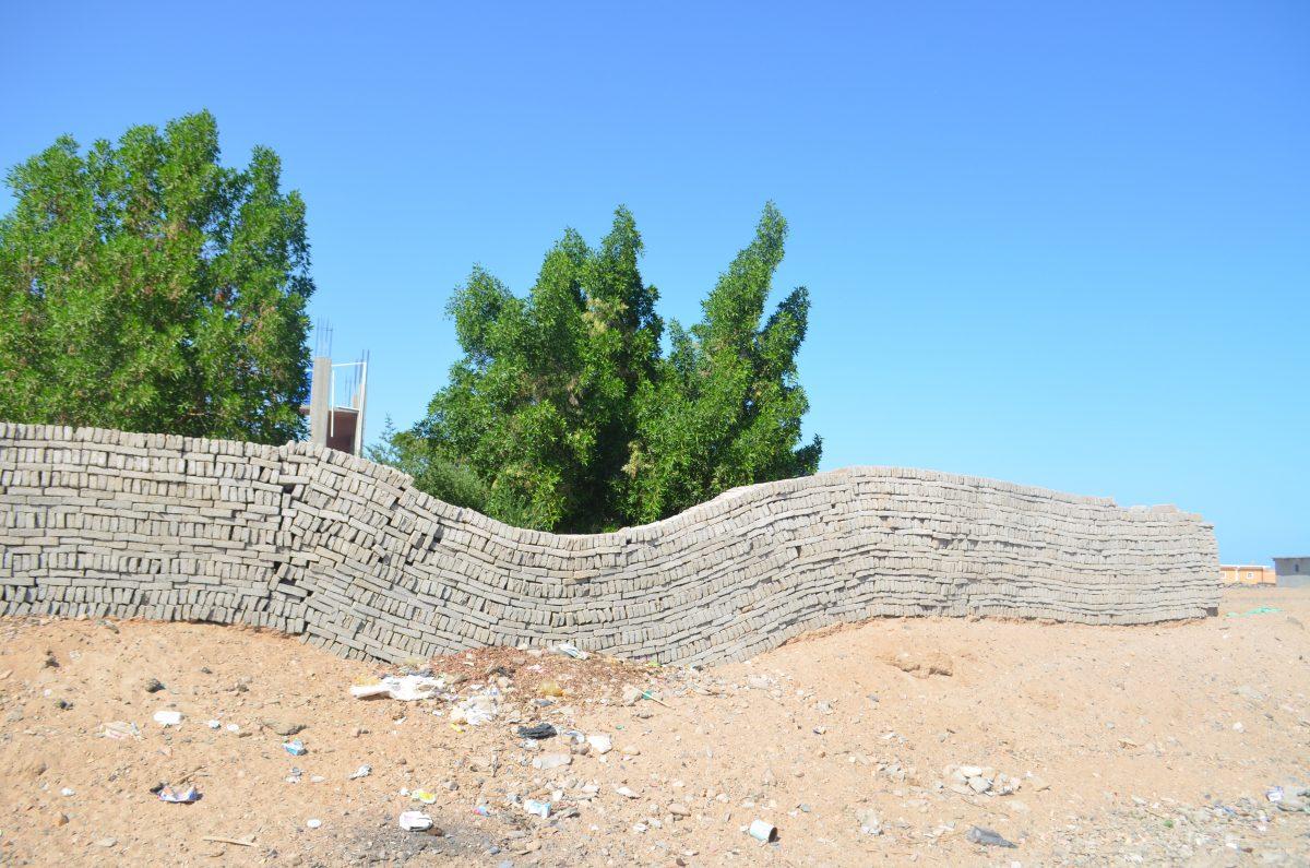 Огорожа просіла. Шалатін, Єгипет