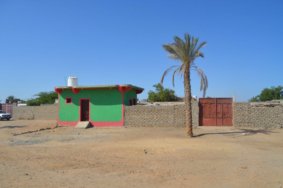 Будинок і паркан. Шалатін, Єгипет