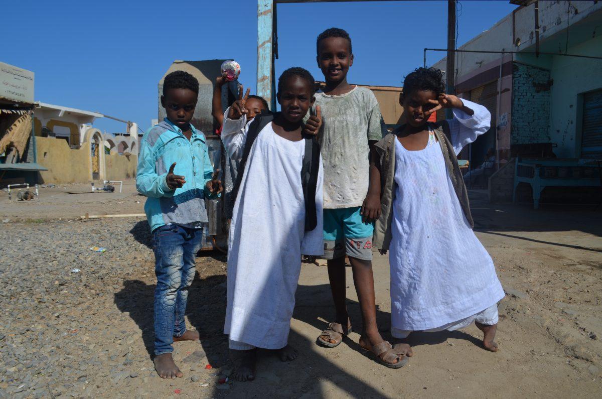 Діти. Шалатін, Єгипет