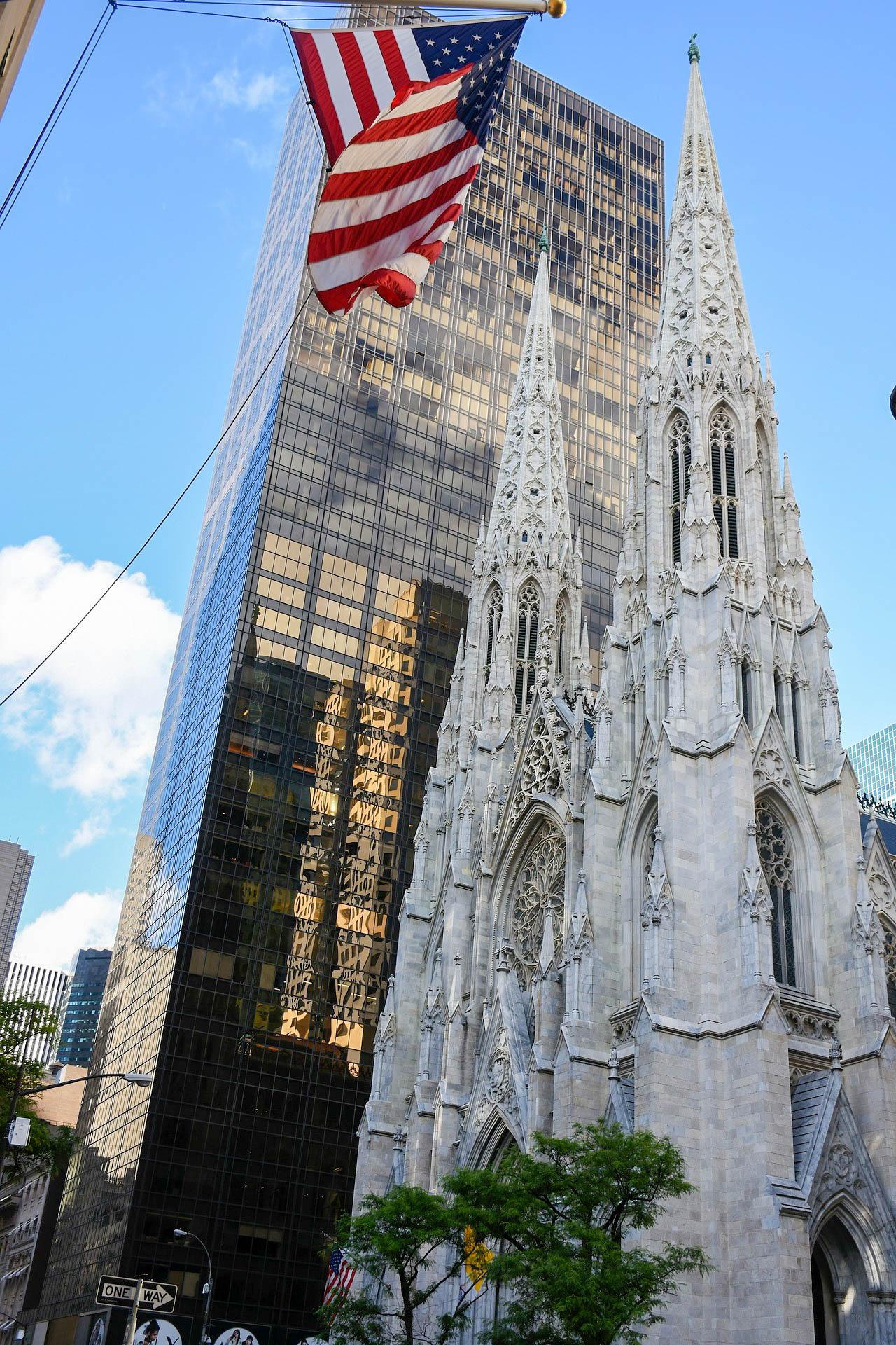 США Нью-Йорк собор