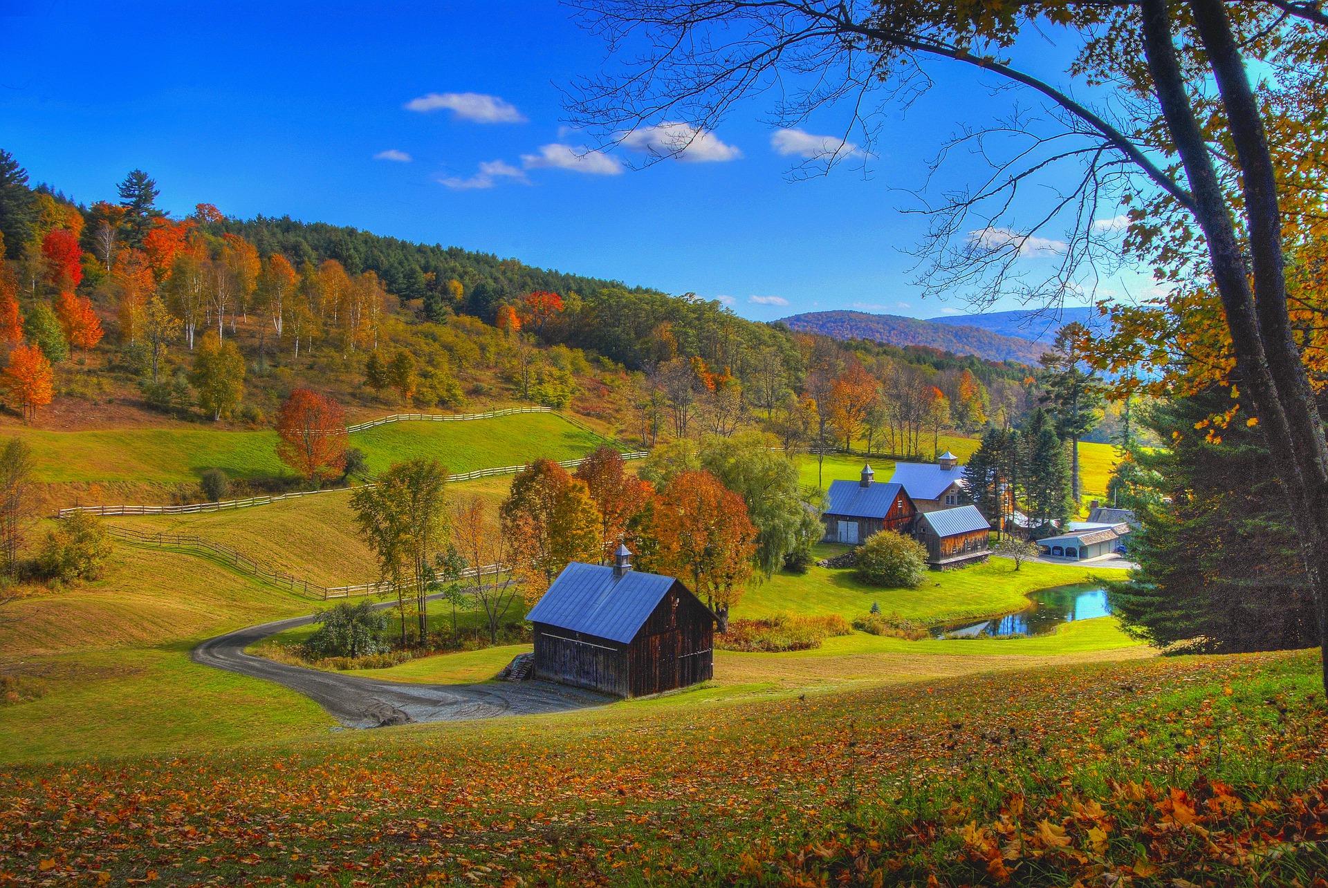 США Нова Англія Вермонт