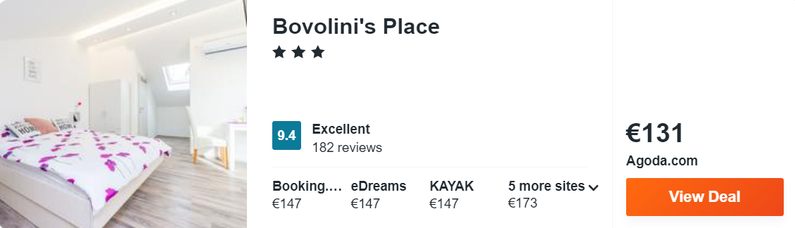 Bovolini's Place