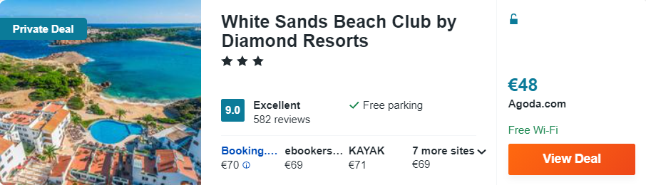 White Sands Beach Club by Diamond Resorts